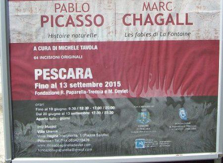 Picasso e Chagall a Pescara